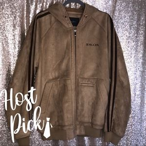 ✨HOST PICK✨Sean John Vintage Tan Jacket
